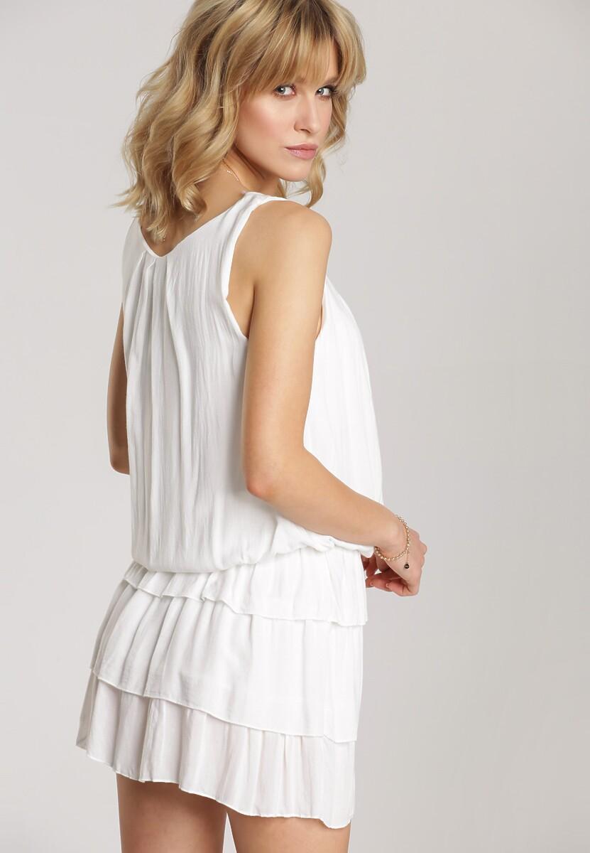Biała Sukienka Talimora