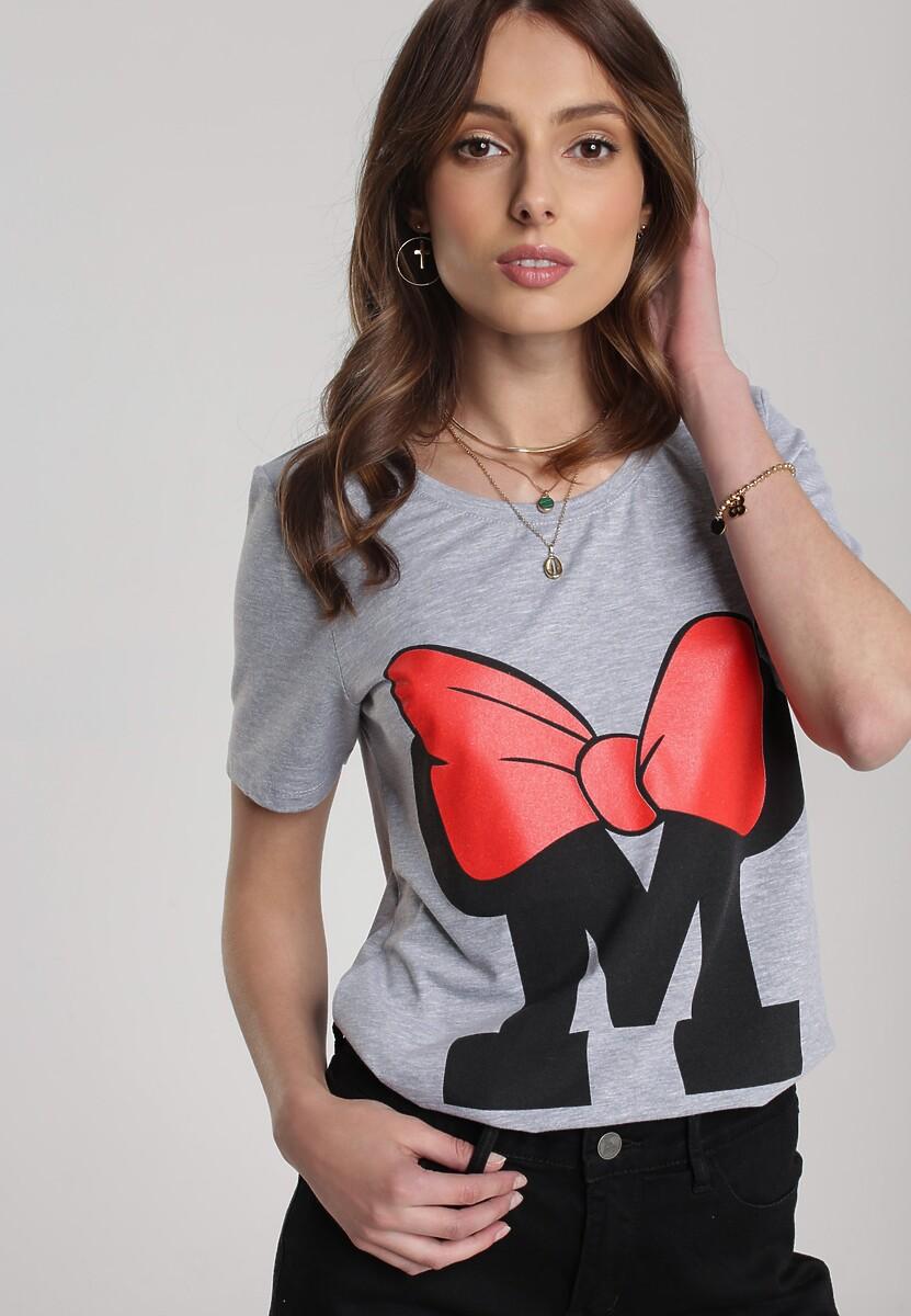 Szary T-shirt Pherosea