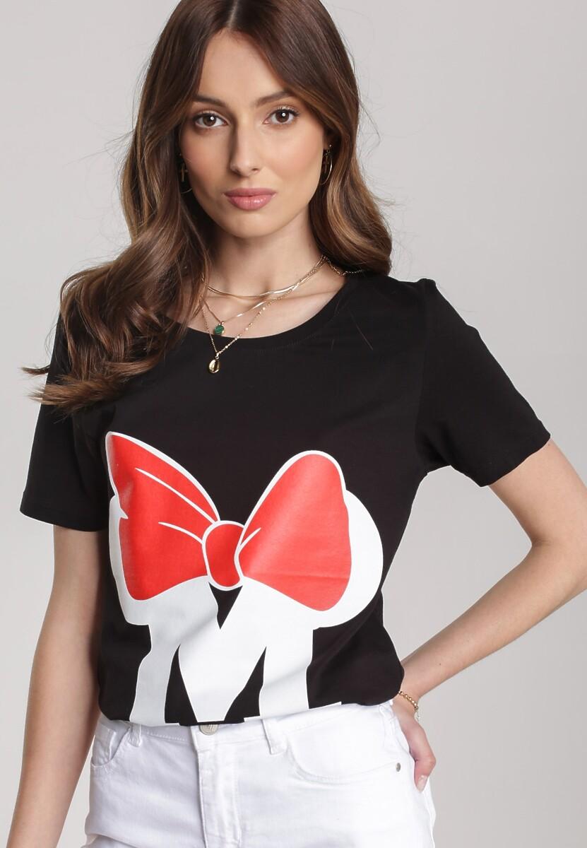 Czarny T-shirt Pherosea