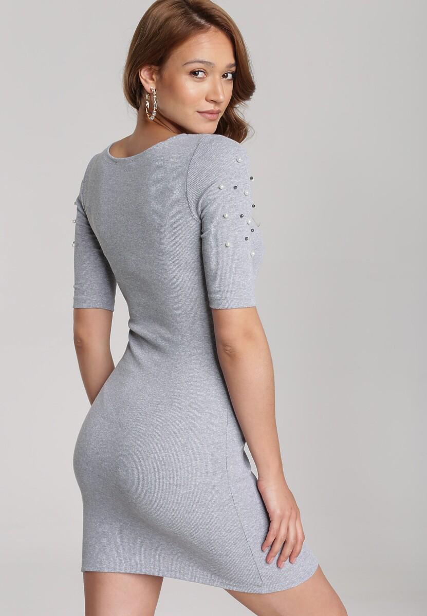 Szara Sukienka Maryleia