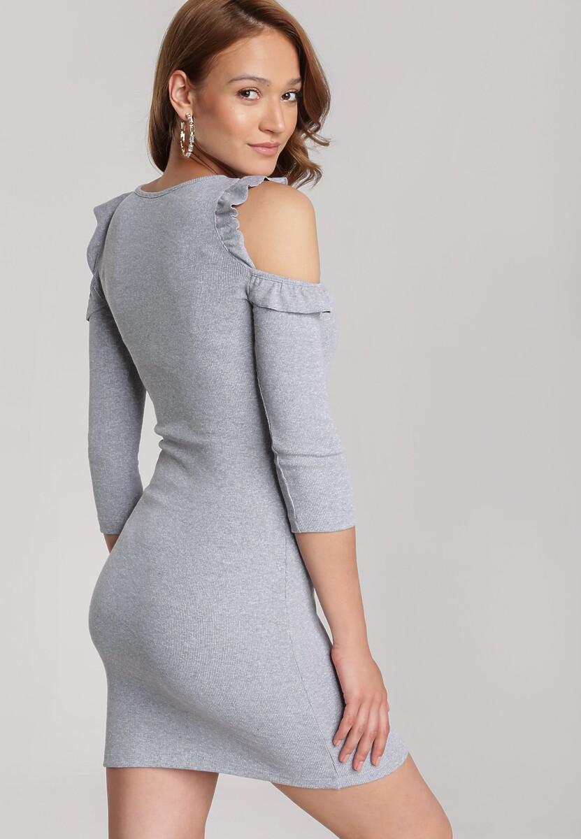 Szara Sukienka Zharien