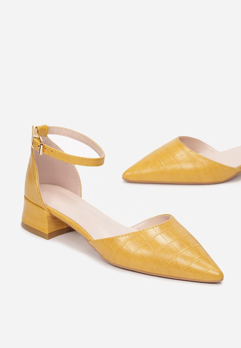 Żółte Czółenka Kleorise