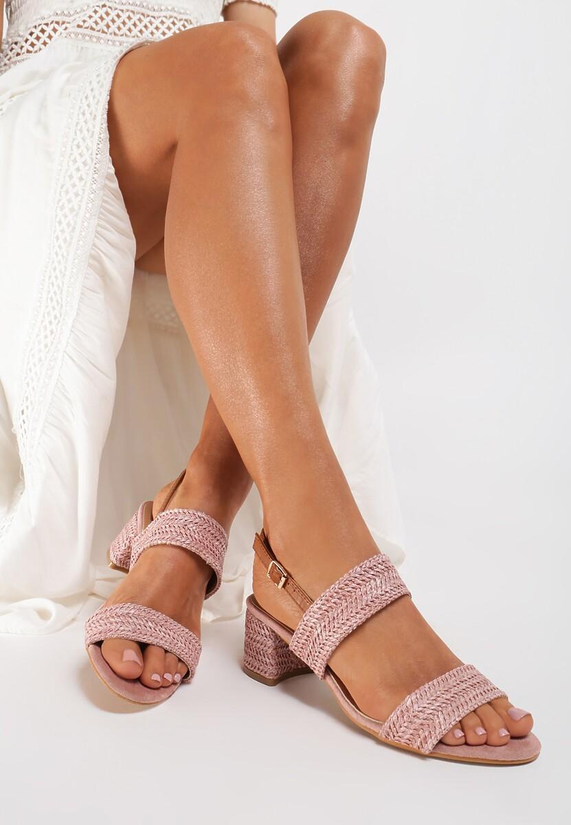 Różowe Sandały Doreasura