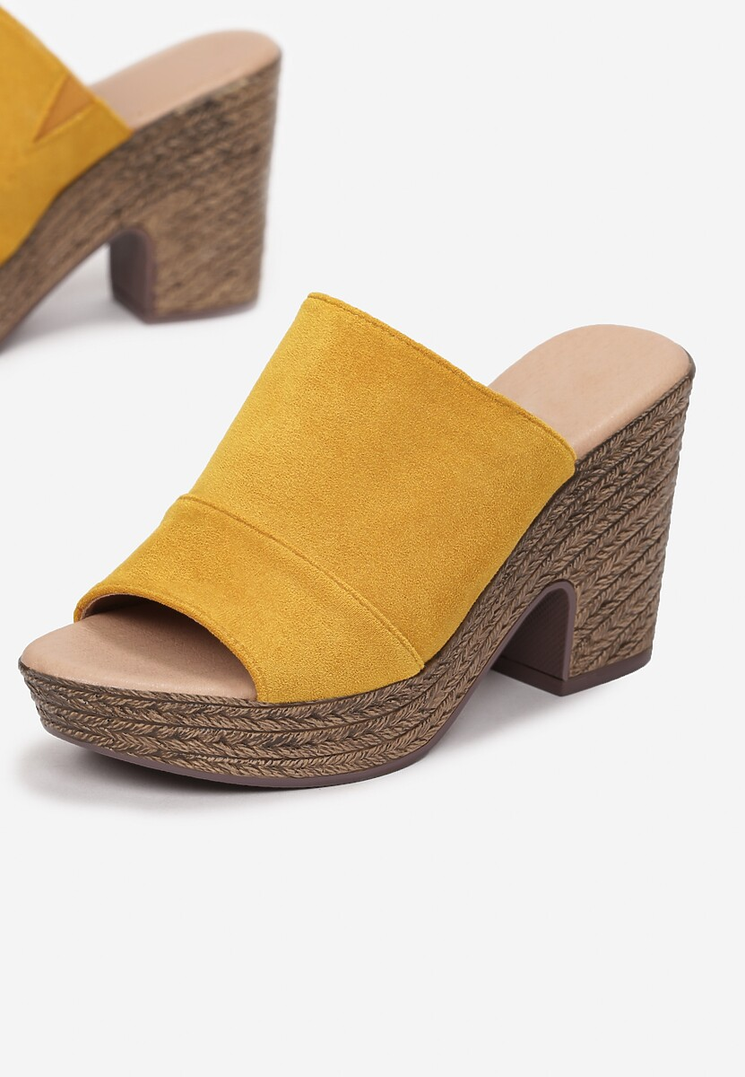 Żółte Klapki Quinctilia