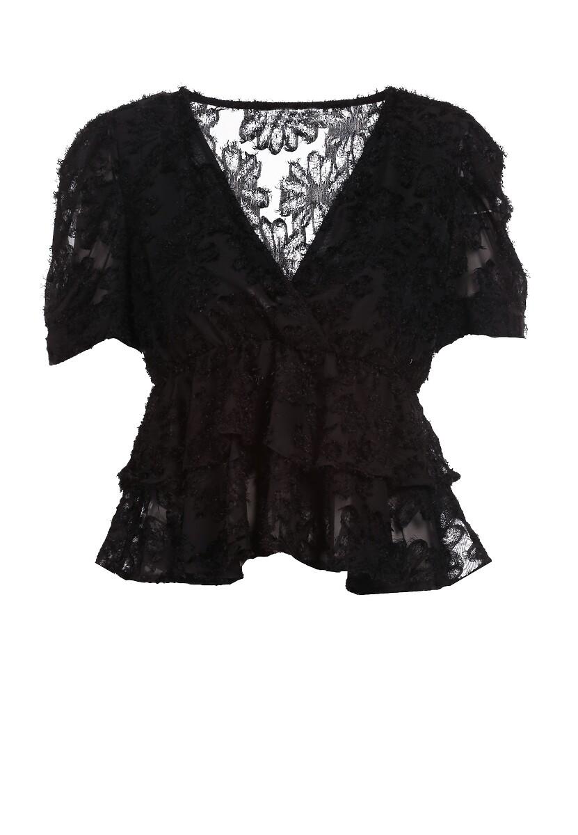 Czarna Bluzka Amave