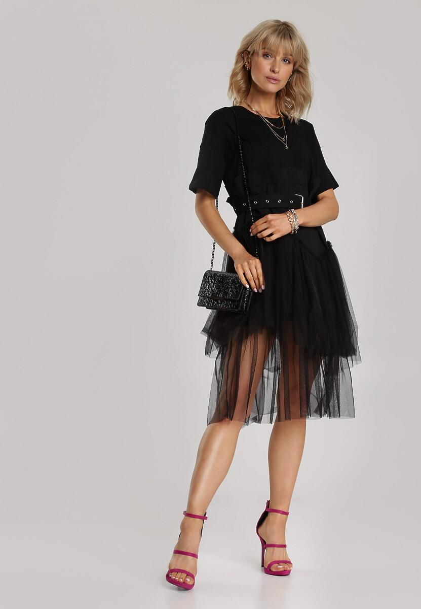 Czarna Sukienka Maidora