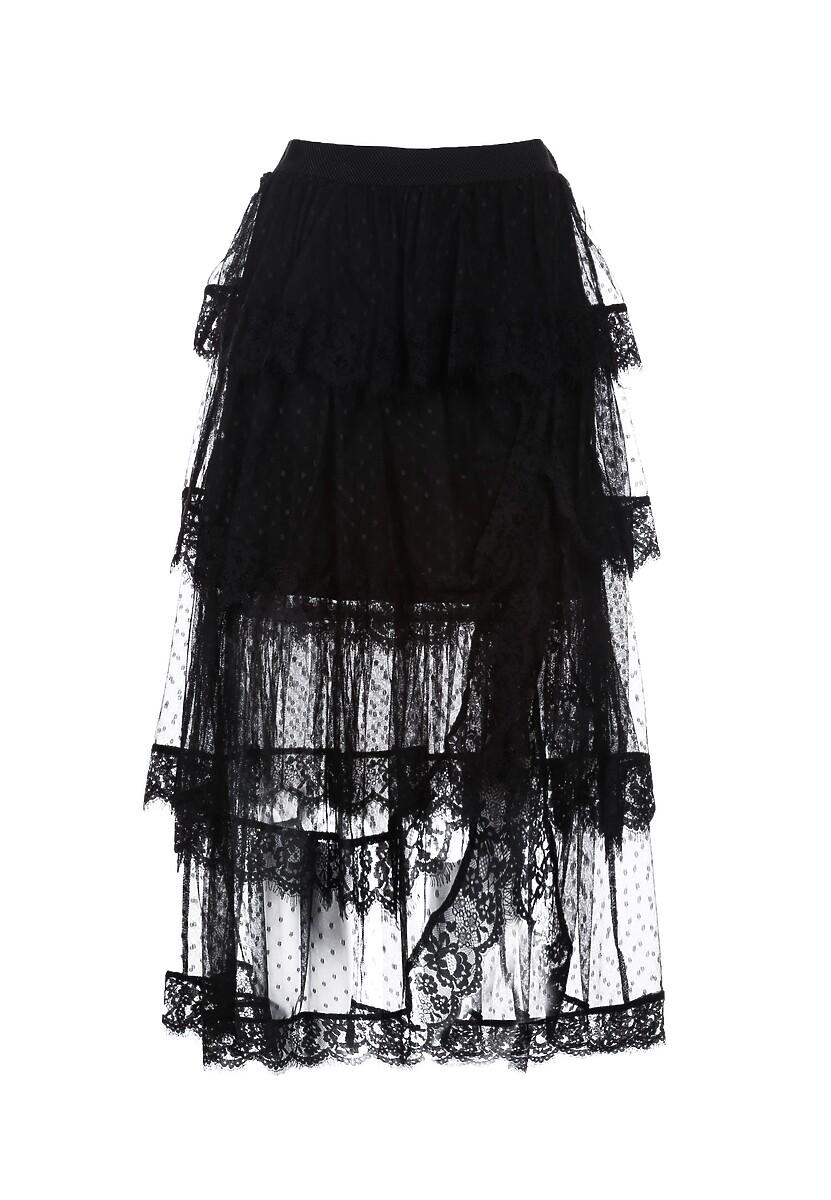 Czarna Spódnica Theminisse