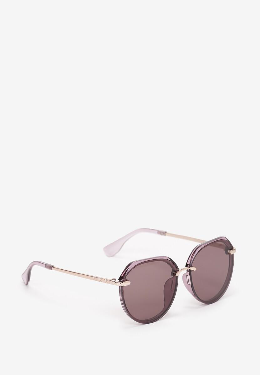 Ciemnofioletowe Okulary Adraciane