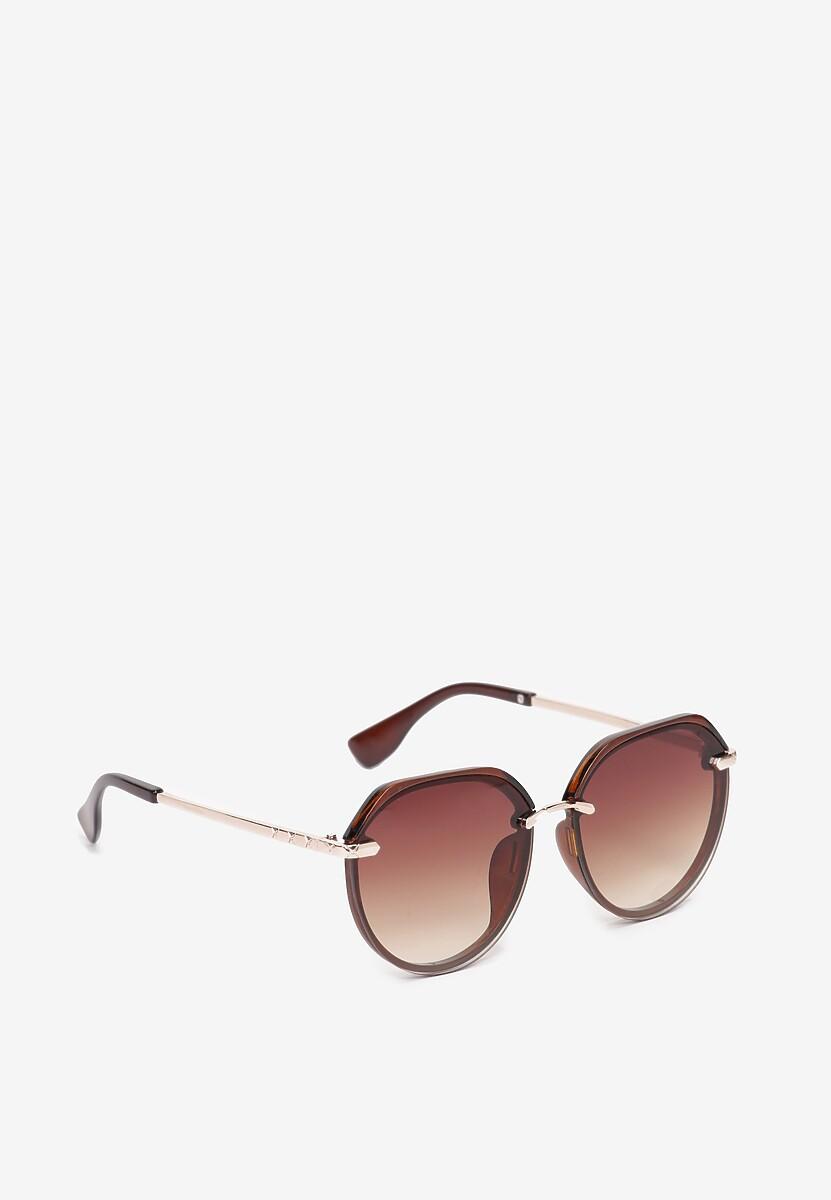 Brązowe Okulary Adraciane