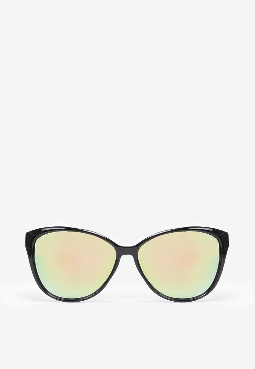Czarno-Zielone Okulary Shelin