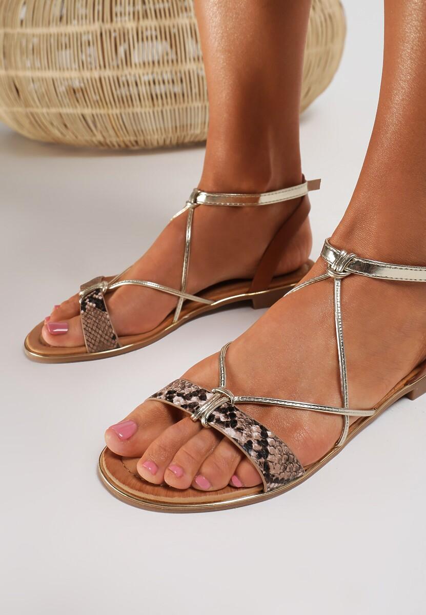 Wężowe Sandały Murielle