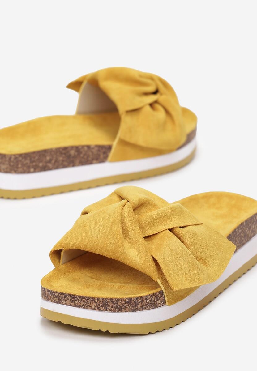 Żółte Klapki Sereidine