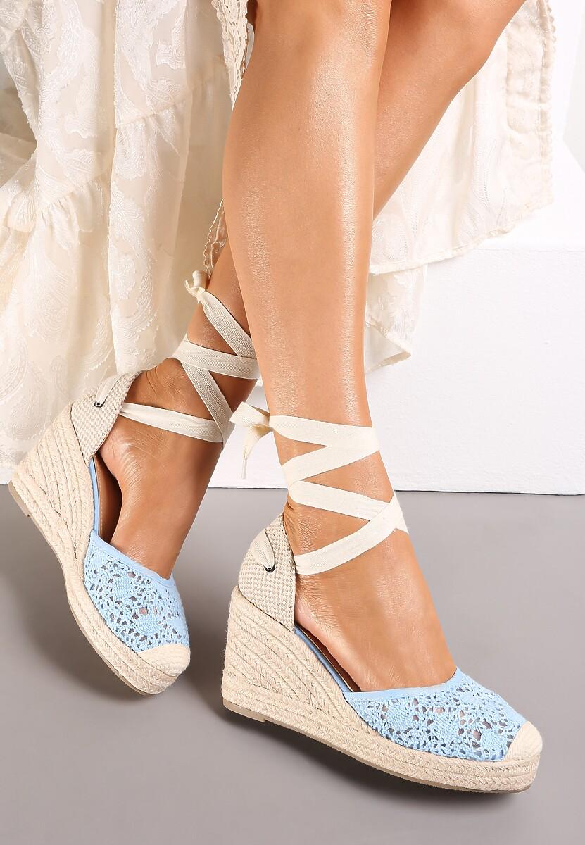 Niebieskie Sandały Jennileh