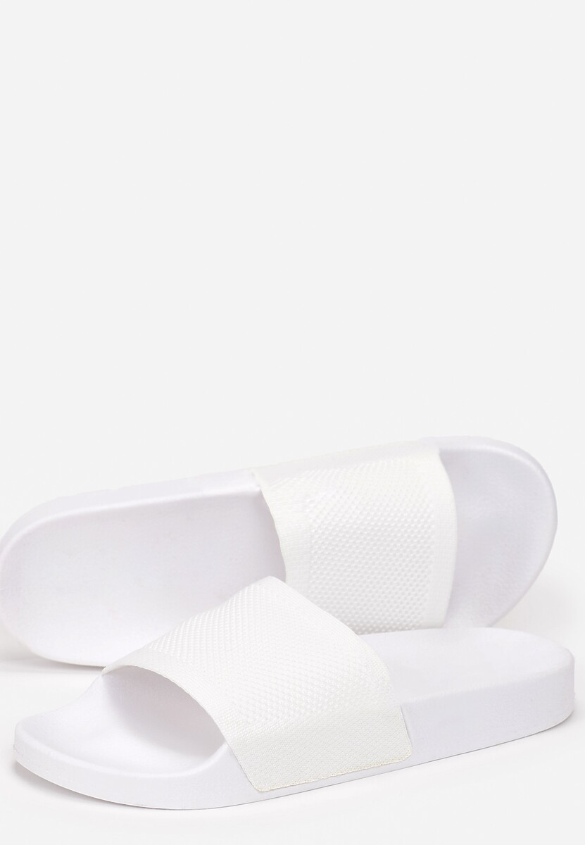 Białe Klapki Cordenore