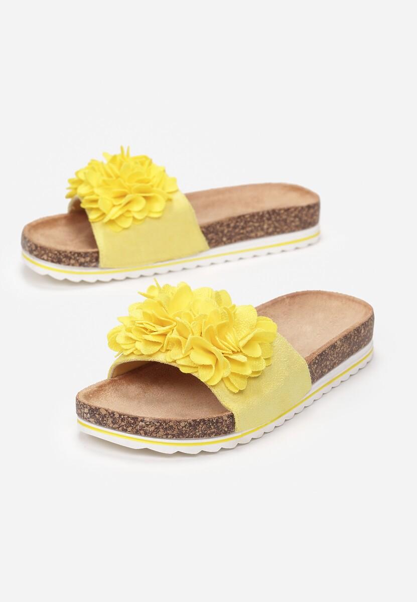 Żółte Klapki Amyliana