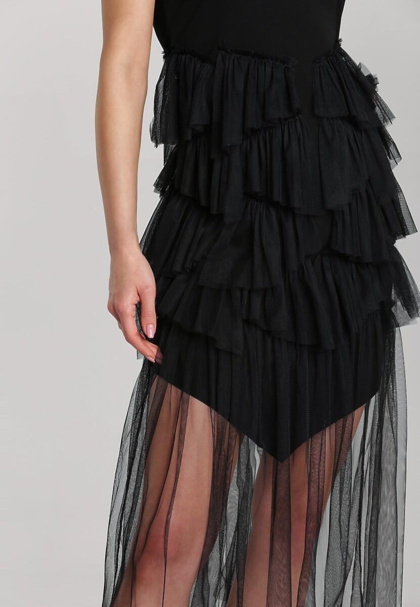 Czarna Sukienka Laiwai