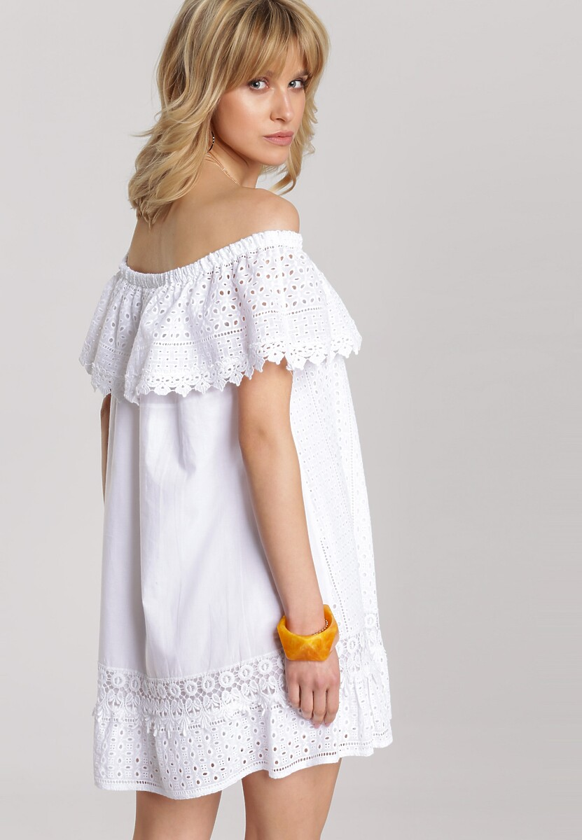 Biała Sukienka Kallimia