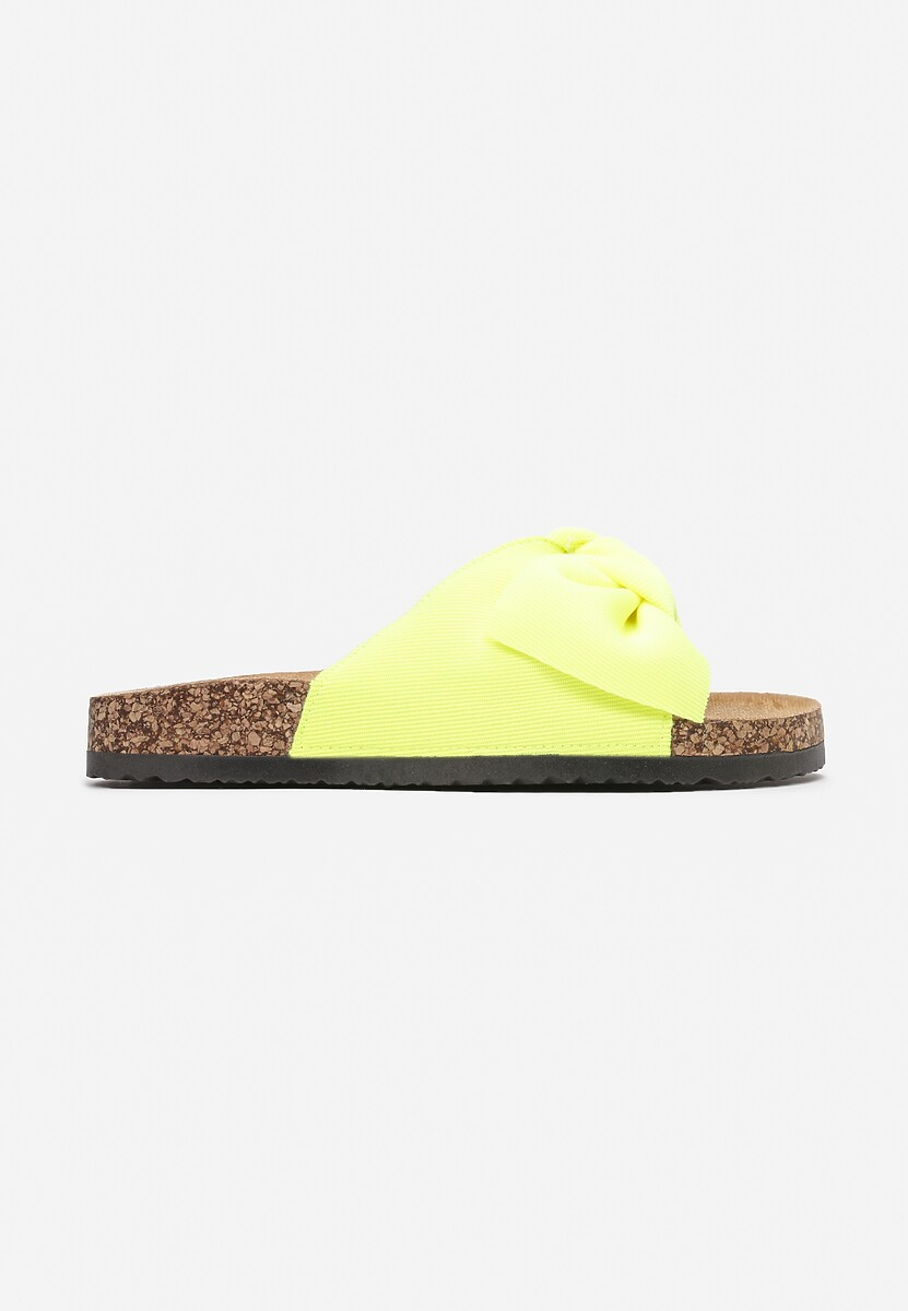 Żółte Klapki Lamilyse