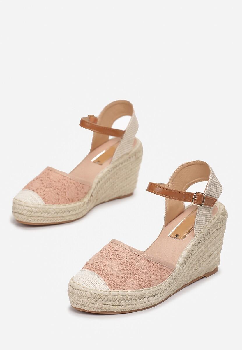 Różowe Sandały Genily