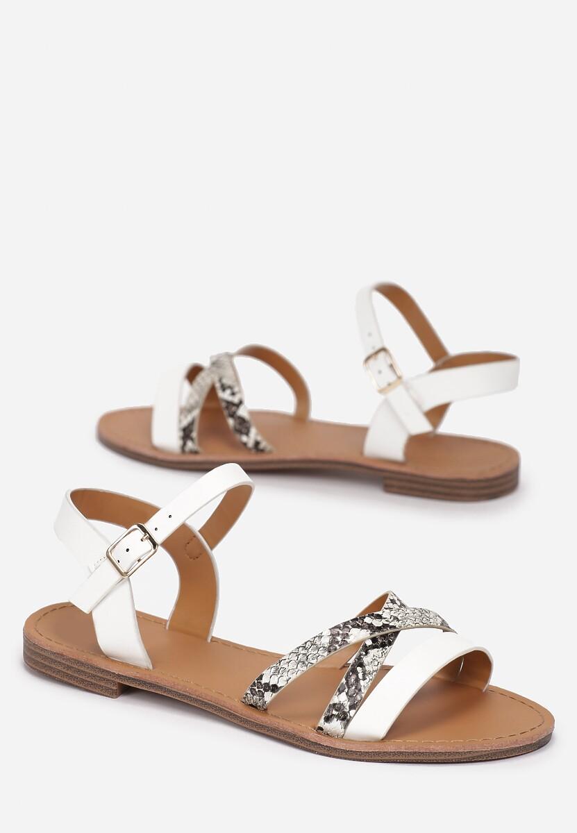 Białe Sandały Ilathise