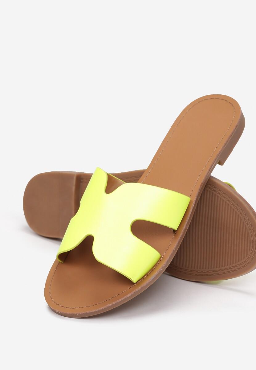 Żółte Klapki Nemethe