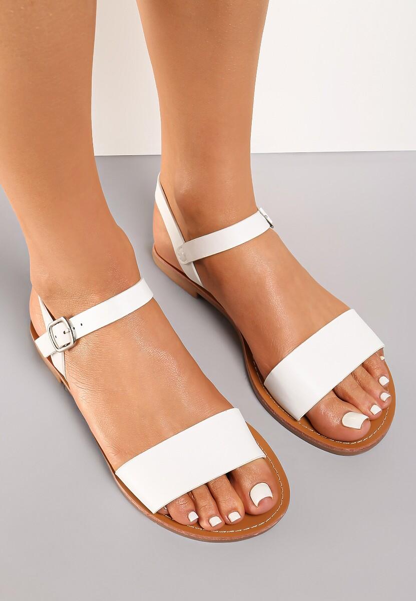 Białe Sandały Galisise