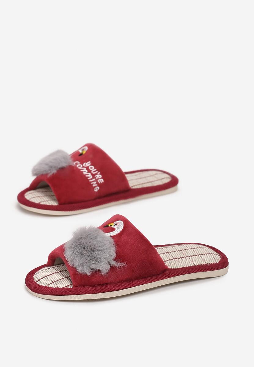 Czerwone Kapcie Narinah Kod produktu: 125024