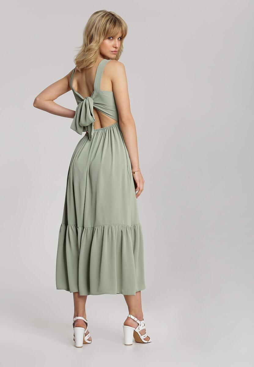 Miętowa Sukienka Dorialila