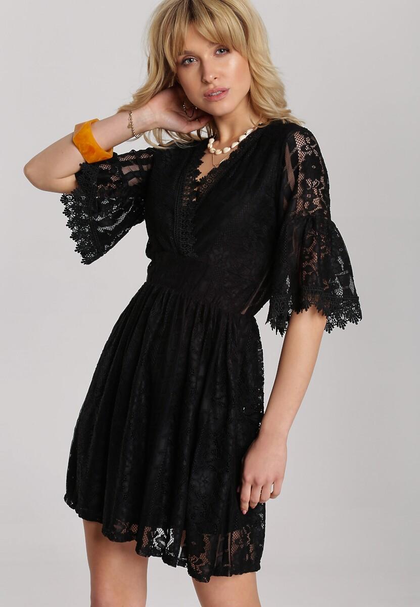 Czarna Sukienka Raelina