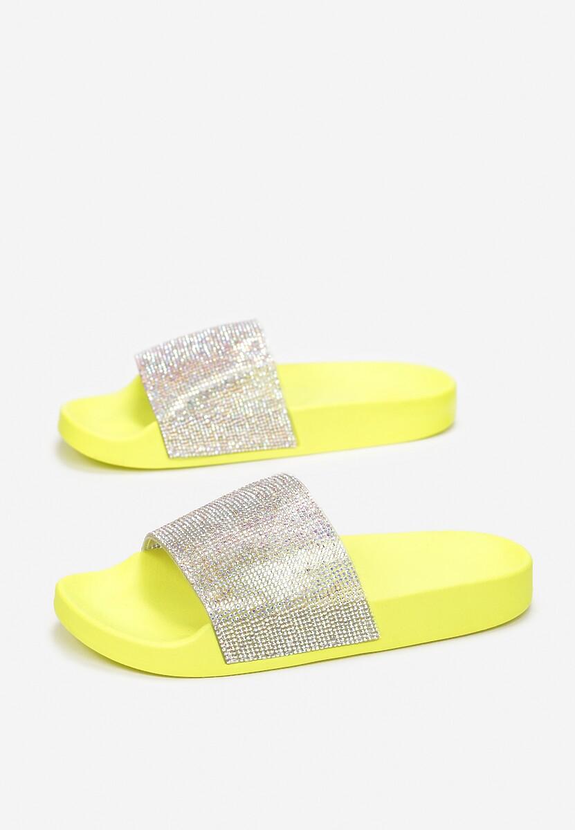 Żółte Klapki Orio
