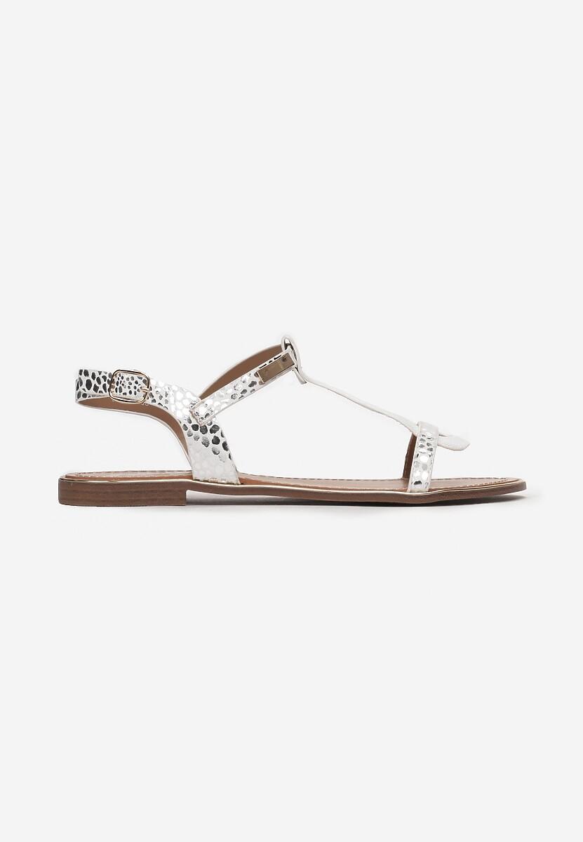 Białe Sandały Metipea