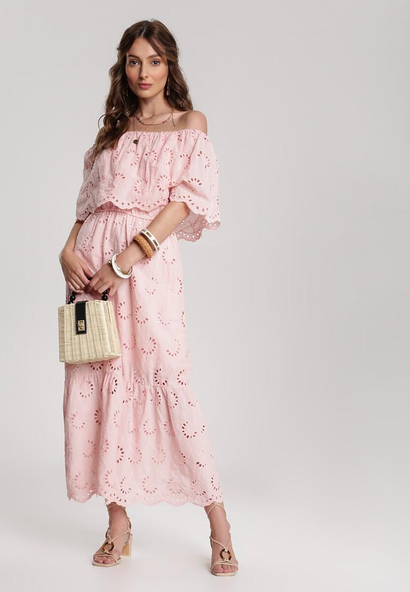 Różowa Sukienka Lagurian