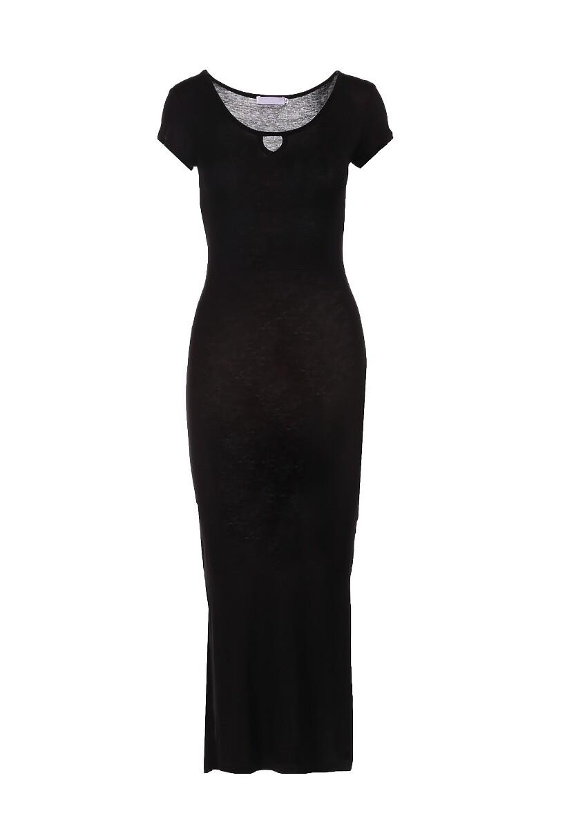Czarna Sukienka Fiorenza