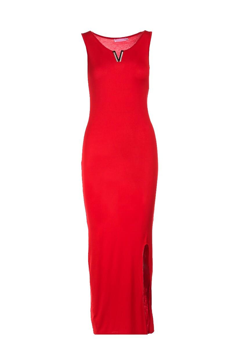 Czerwona Sukienka Rosalba