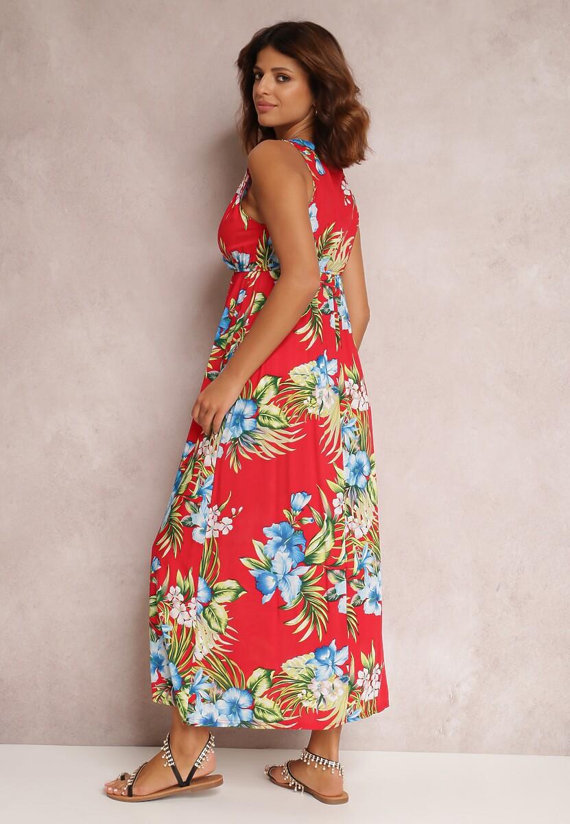 Czerwona Sukienka Metinohre