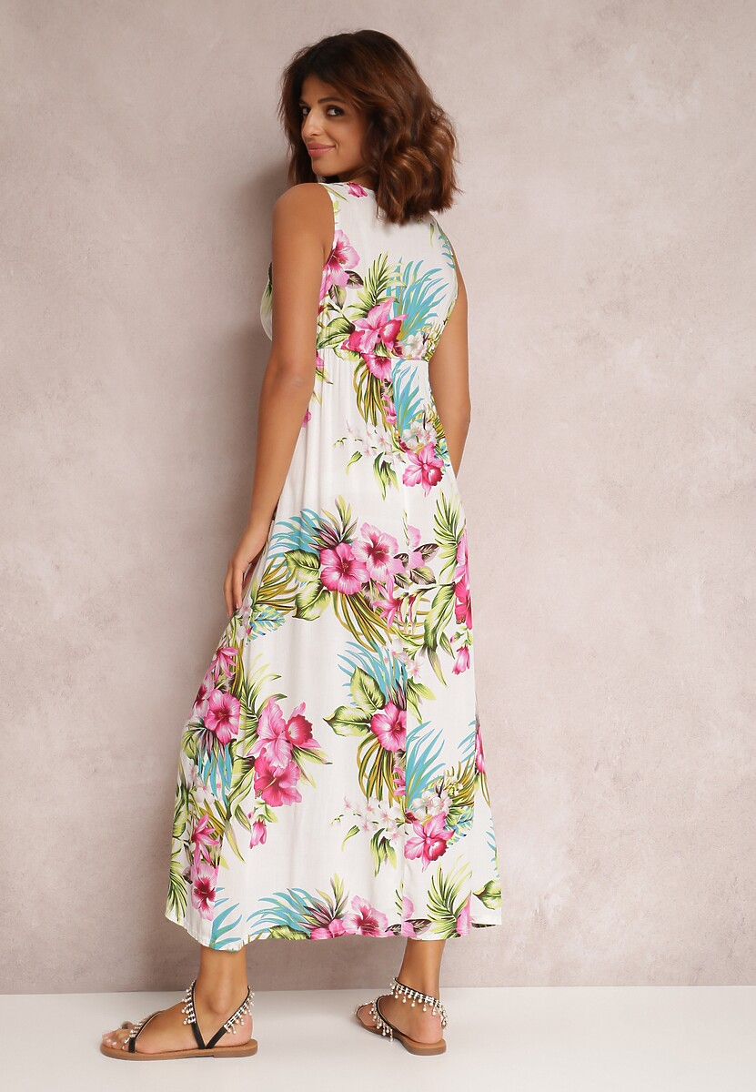 Biała Sukienka Metinohre