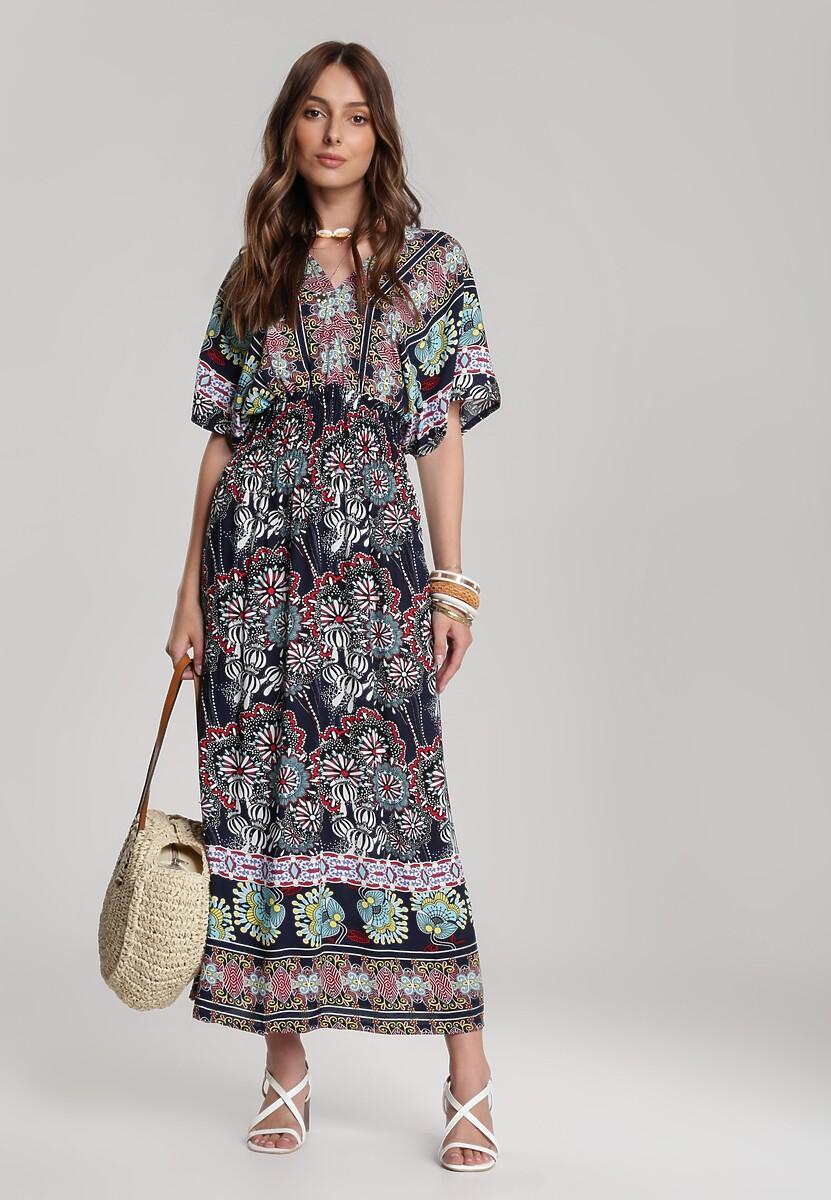 Granatowa Sukienka Cladelia