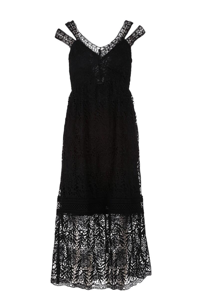 Czarna Sukienka Viviamara
