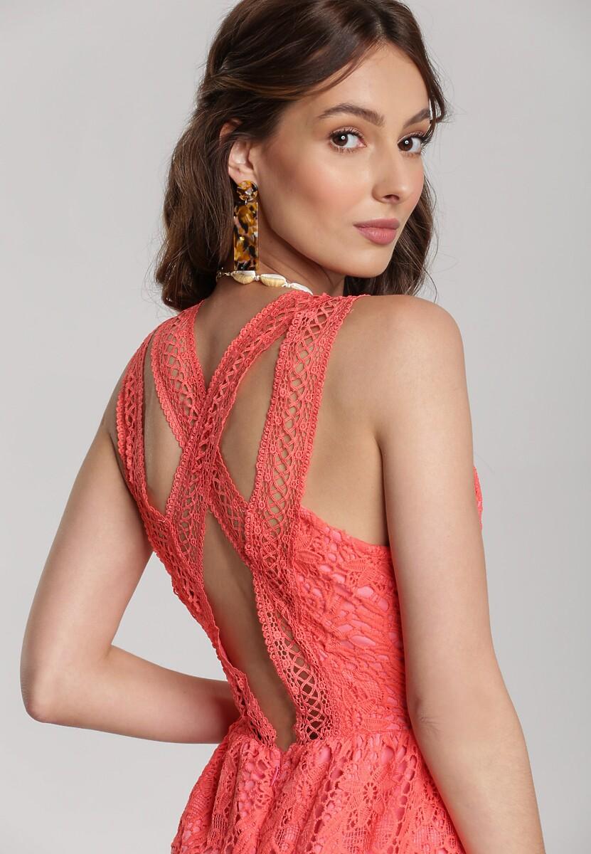 Łososiowa Sukienka Viviamara