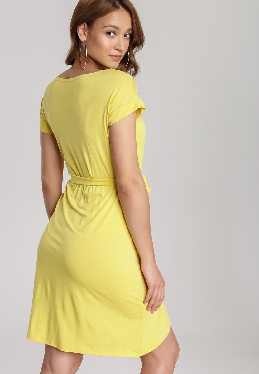 Żółta Sukienka Veridiana