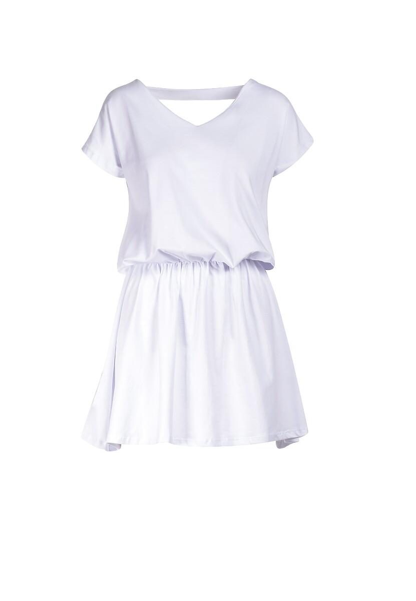 Biała Sukienka Daeicia