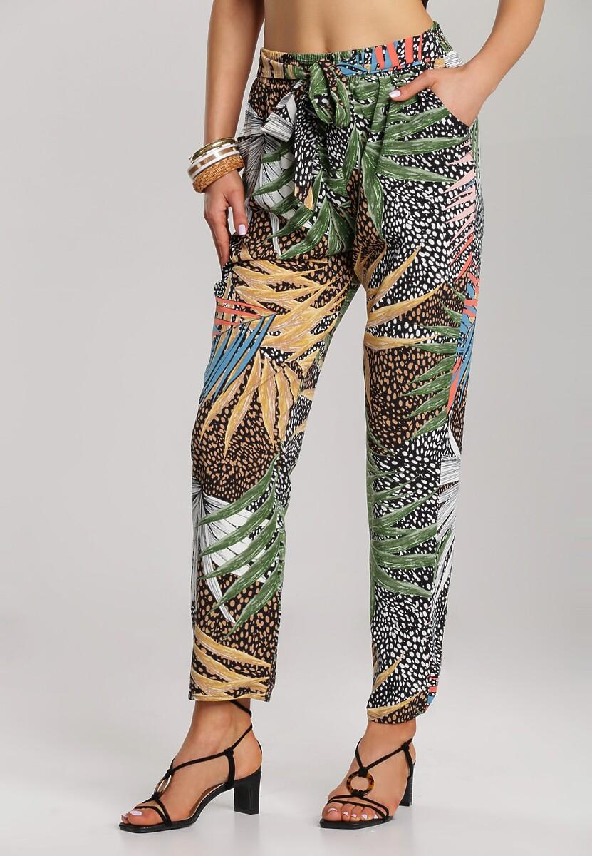 Ciemnobeżowe Spodnie Merebelle
