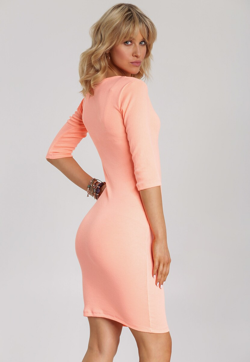 Pomarańczowa Sukienka Arriessa