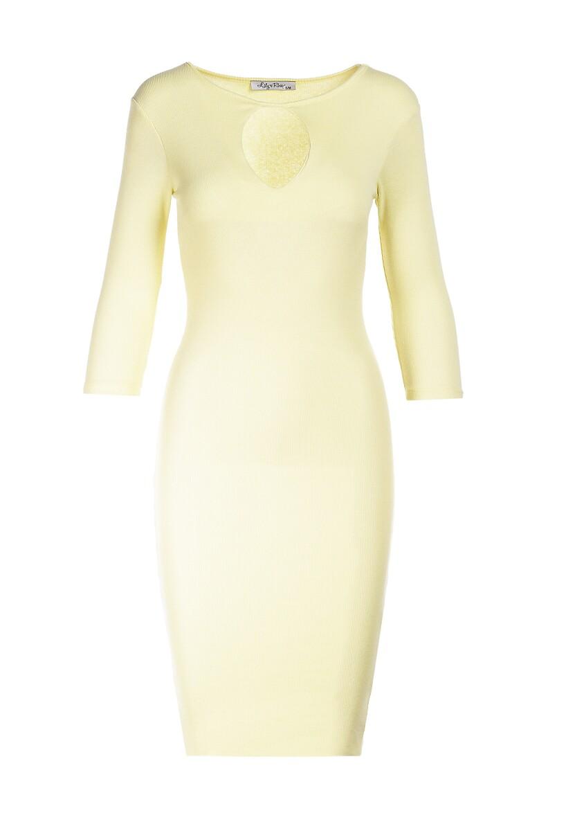 Żółta Sukienka Arriessa