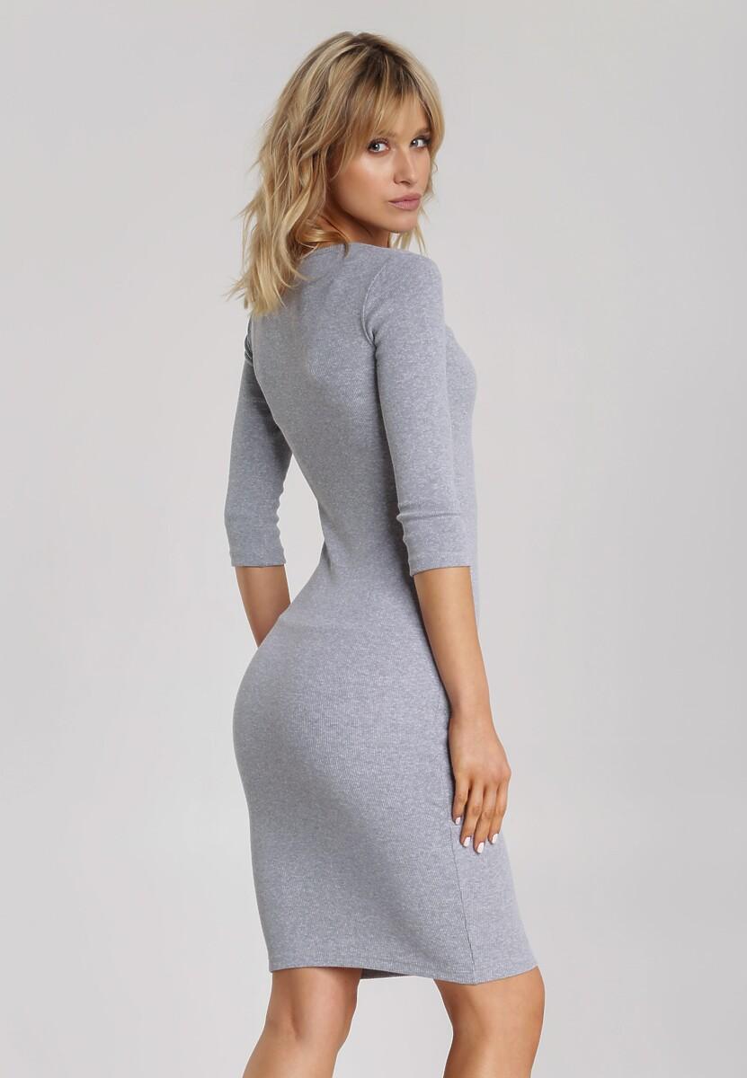 Szara Sukienka Arriessa