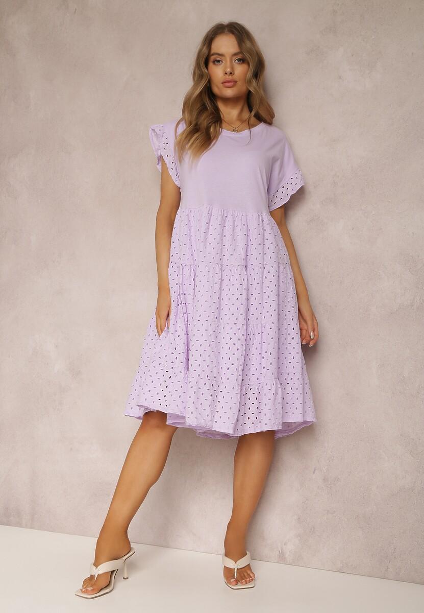 Lawendowa Sukienka Rhesise