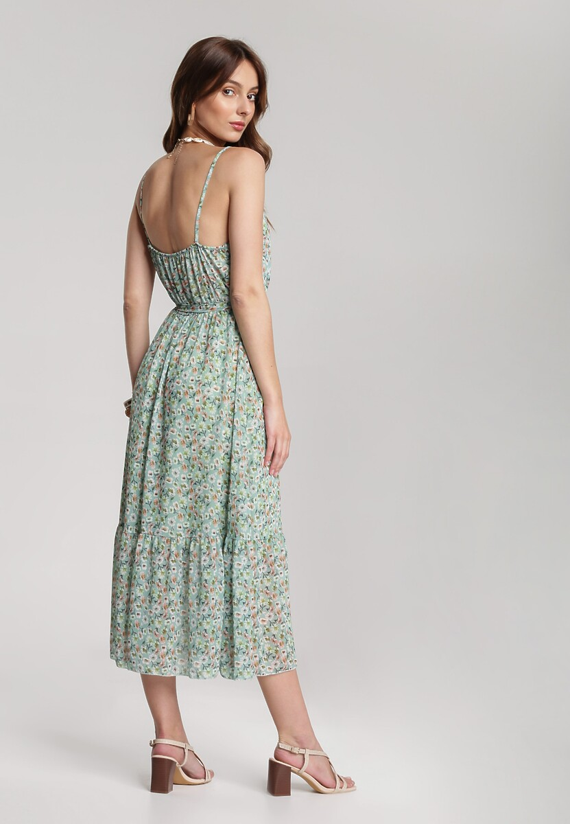 Jasnozielona Sukienka Asithelia