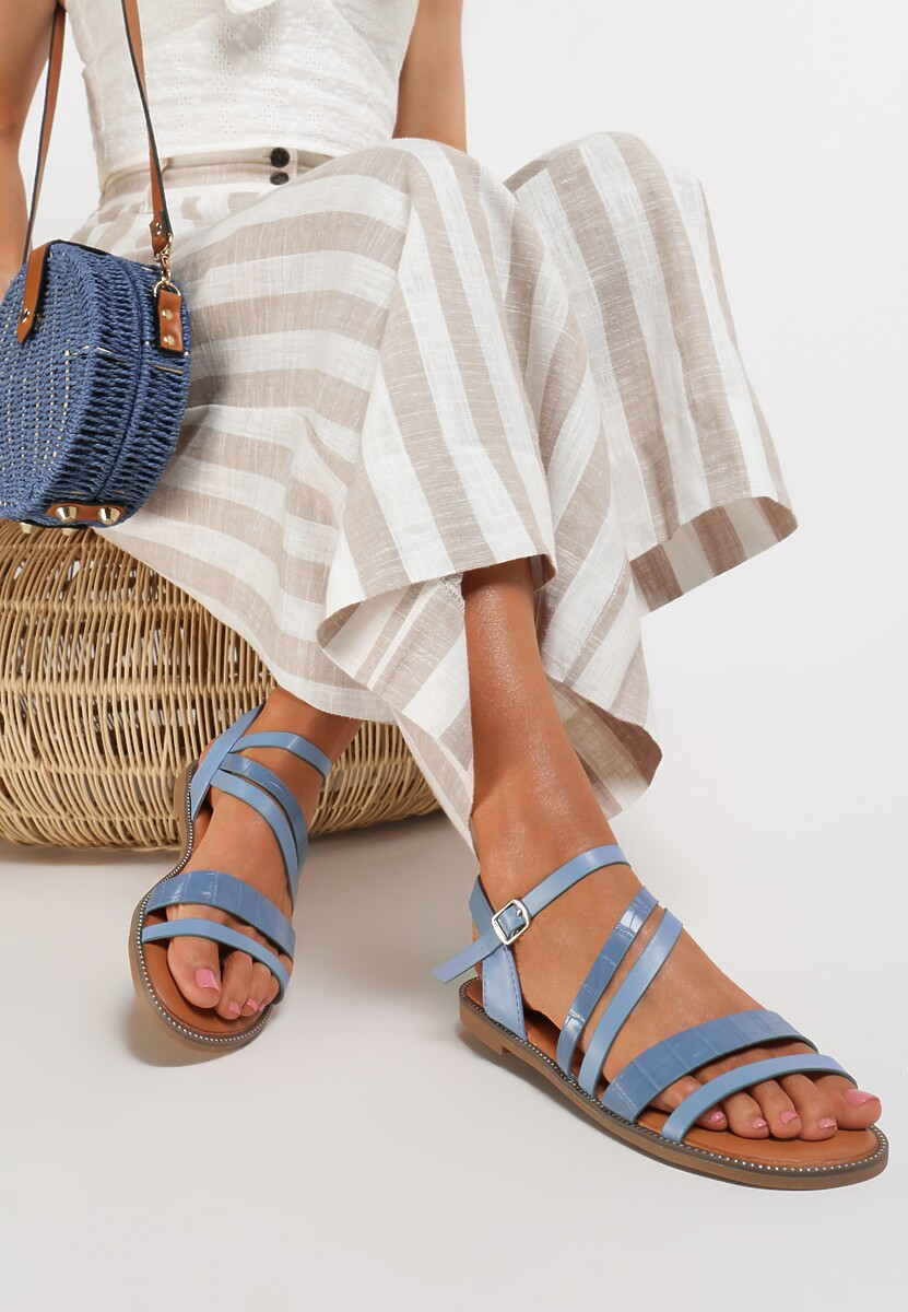 Niebieskie Sandały Jennirith