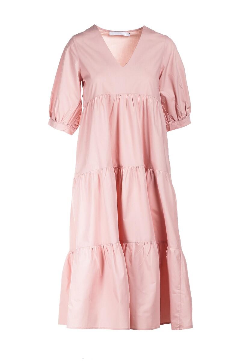 Jasnoróżowa Sukienka Schuyler