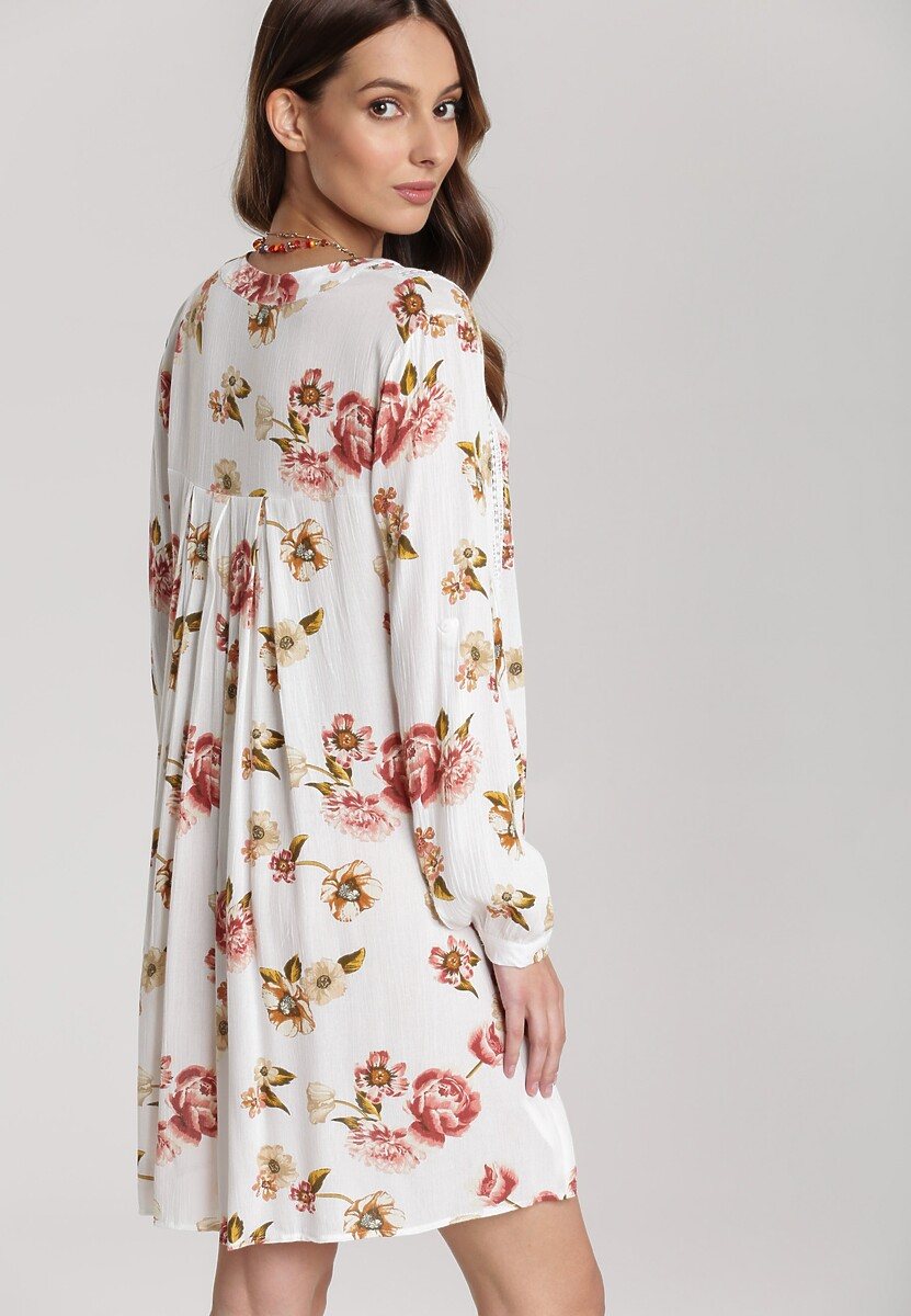 Kremowa Sukienka Maimenis